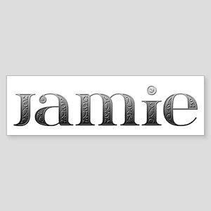 Jamie Carved Metal Bumper Sticker