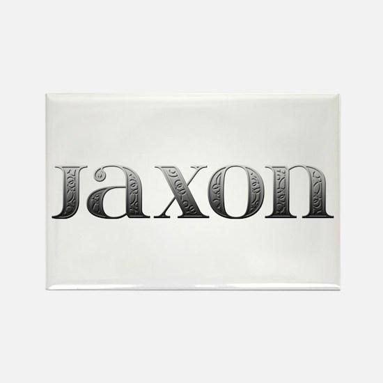 Jaxon Carved Metal Rectangle Magnet