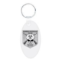 Zombie Response Team: Houston Division Keychains