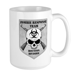 Zombie Response Team: Houston Division Large Mug