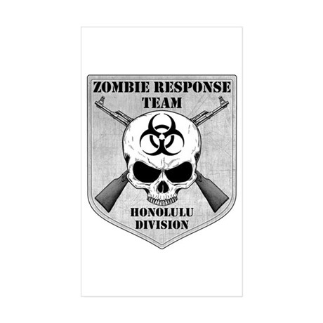 Zombie Response Team: Honolulu Division Sticker (R