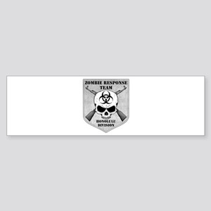 Zombie Response Team: Honolulu Division Sticker (B
