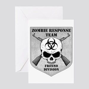 Zombie Response Team: Fresno Division Greeting Car