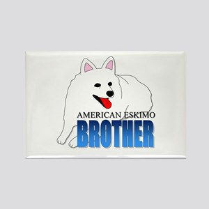 American Eskimo Dog Rectangle Magnet