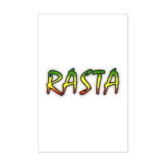 Rasta Mini Poster Print