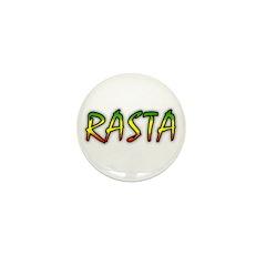 Rasta Mini Button (100 pack)