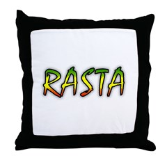 Rasta Throw Pillow
