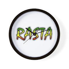 Rasta Wall Clock