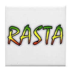 Rasta Tile Coaster
