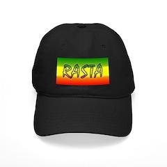Rasta Black Cap