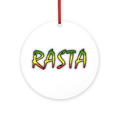 Rasta Ornament (Round)
