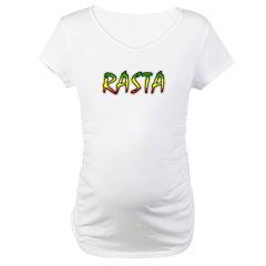 Rasta Maternity T-Shirt