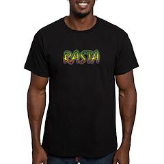 Rasta Men's Fitted T-Shirt (dark)