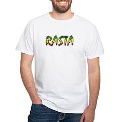 Rasta White T-Shirt