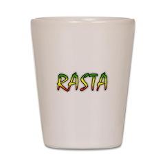 Rasta Shot Glass