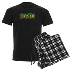 Rasta Men's Dark Pajamas