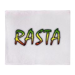 Rasta Throw Blanket