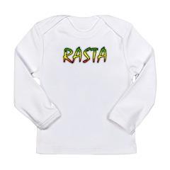 Rasta Long Sleeve Infant T-Shirt