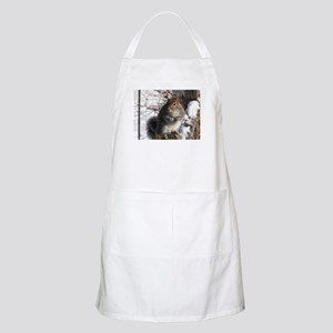 Gray squirrel BBQ Apron