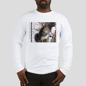 Gray squirrel Long Sleeve T-Shirt