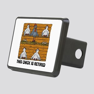 Retired Chick Rectangular Hitch Cover