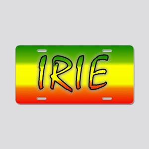 Irie Aluminum License Plate