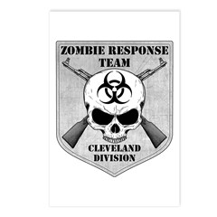 Zombie Response Team: Cleveland Division Postcards