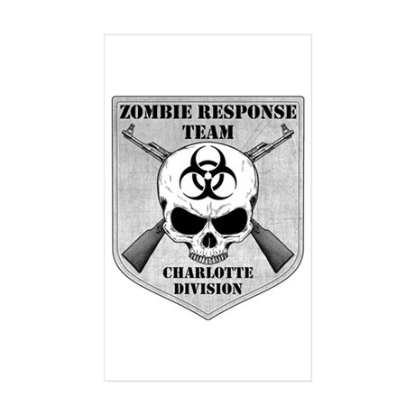 Zombie Response Team: Charlotte Division Sticker (