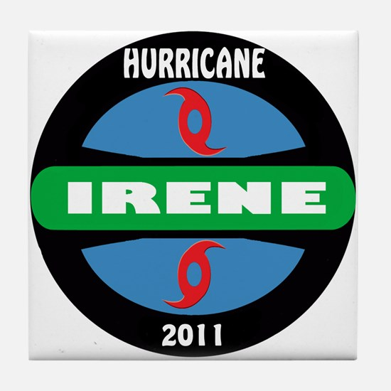 Hurricane Irene Tile Coaster