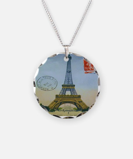 VINTAGE EIFFEL TOWER Necklace
