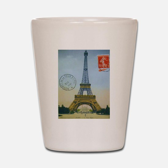 VINTAGE EIFFEL TOWER Shot Glass