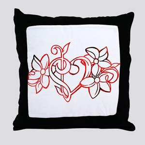 Bass and Trebel in colors! Throw Pillow