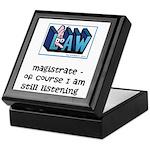 Magistrate's Keepsake Box