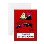 Magistrate's Greeting Cards (Pk of 20)