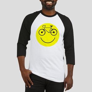 Smiley Cycle Baseball Jersey