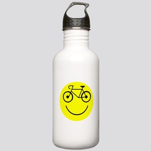 Smiley Cycle Stainless Water Bottle 1.0L