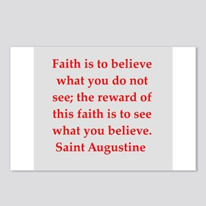 St Augustine Postcards (Package of 8)