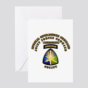 SOF - Joint Forces Command - SSI Greeting Card