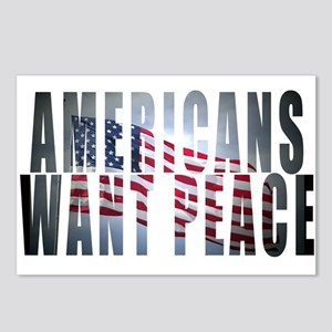 Americans Want Peace Postcards (Package of 8)