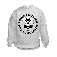 Zombie Hunter 4 Sweatshirt