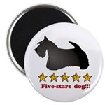 Five-Stars Dog Magnet