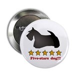 Five-Stars Dog Button