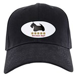 Five-Stars Dog Black Cap