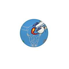 OYOOS Kids Spaceship Cactus design Mini Button (10