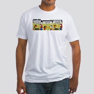 0322 - Twenty-second airborne Fitted T-Shirt