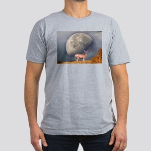 Dream buck 2 Men's Fitted T-Shirt (dark)