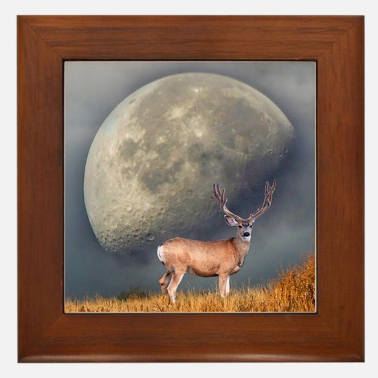 Dream buck 2 Framed Tile