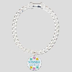 Nannies Joy Charm Bracelet, One Charm