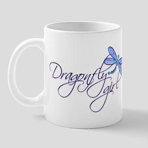 Dragonfly Girl Mug