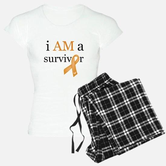 i AM a survivor (Orange) Pajamas